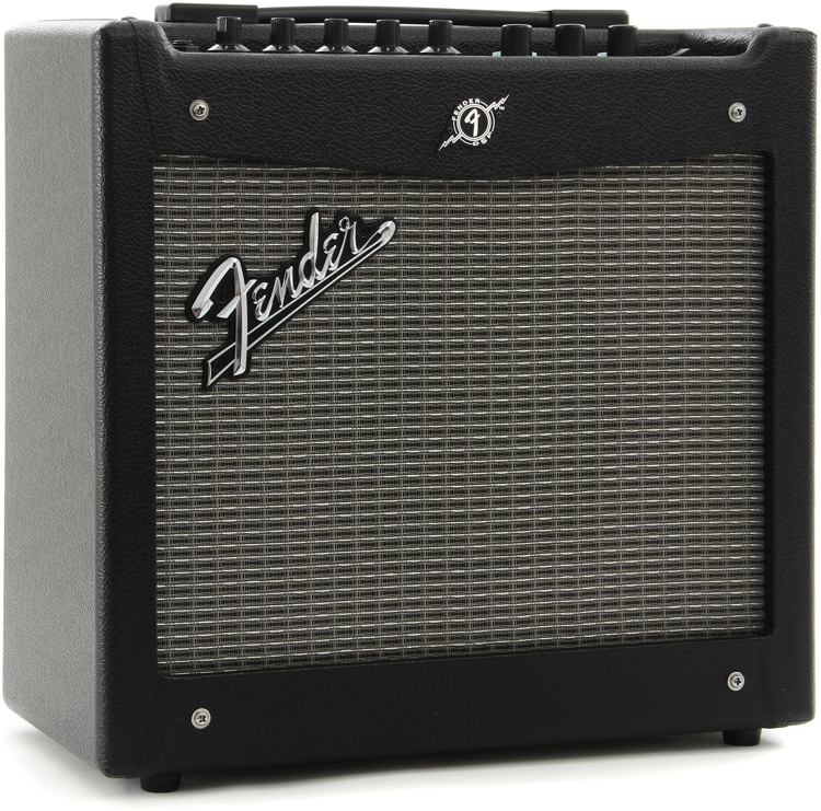 Fender Mustang 1 V2 >> Fender Mustang I V 2 20 Watt 1 X 8 Guitar Combo Amp Black Modeling